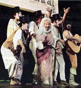 Irene Ryan and other original cast members of Pippin