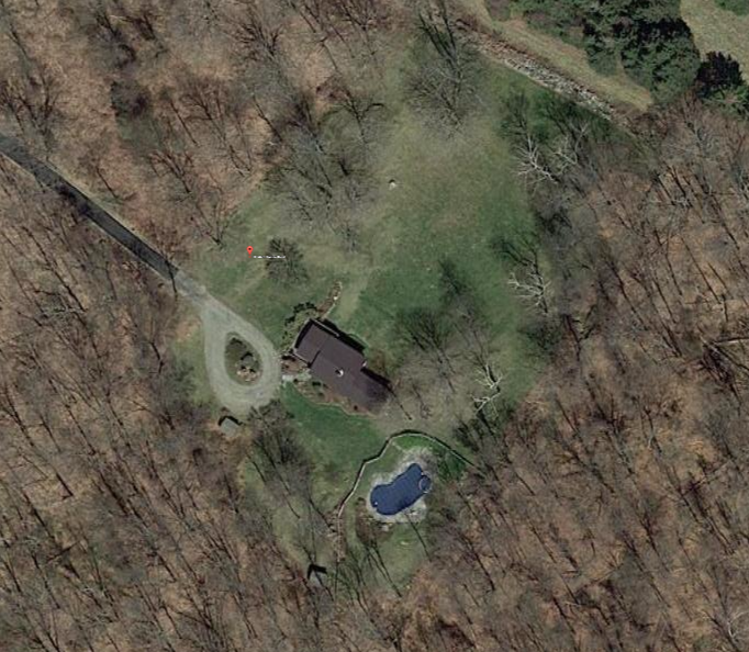 10 White Hollow Road Aerial View