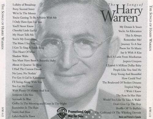 HarryWarrenSongHits