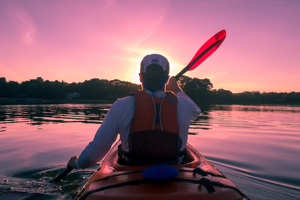 Kayaking
